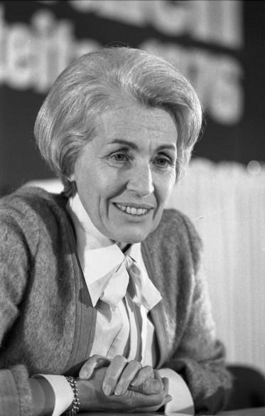 Hildegard Hamm-Brücher, 1976. Quelle: Bundesarchiv, B 145 Bild-F049586-0029 / Gräfingholt, Detlef / CC-BY-SA 3.0